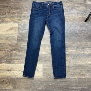 American Eagle High Rise Jeggings Jeans Size 8
